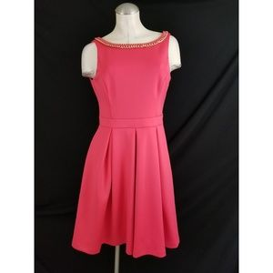 Jessica Simpson Size 8 Pink Cocktail Dress